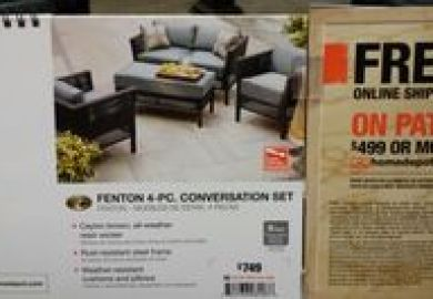 Fenton Outdoor Furniture Home Depot