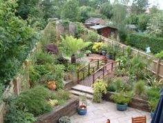 Long Narrow Garden Design Google Search Newark Garden