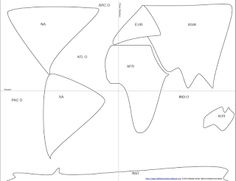 CC Cycle 1 Week 23 & 24 South America outline maps