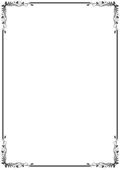 Printable fancy border. Use the border in Microsoft Word