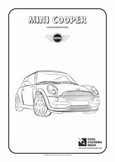 Cooper cars, Mini coopers and Car drawings on Pinterest