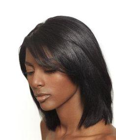 Black Flat Iron Hair Styles Black Hair Trend 2017