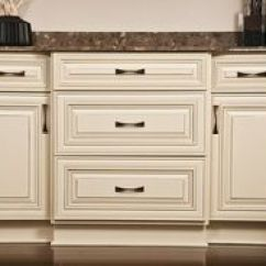 Kitchen Remodel Charleston Sc Trash Bin Butter Cream Glazed Cabinets | Maple ...
