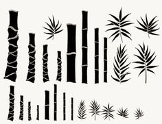 BAMBOO TREE WALL ART STICKERS DECALS HOME DECOR GRAPHICS