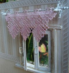 Let's Make Some Dollhouse Curtains Tutorials For A Variety Of