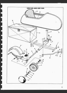 Spirit of America Eagle sidecar standard chrome frame