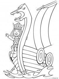 Viking helmet pattern. Use the printable outline for