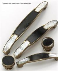 Horn cabinet pulls. I am SO getting these in my master ...