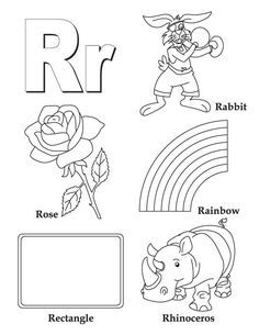 1000+ images about Letter R preK unit on Pinterest