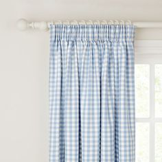 Blue Gingham Blue Gingham Lamp With Shade At LAURA ASHLEY