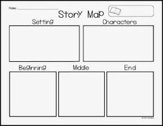 AMAZING freebie to use for story maps... Perfect for