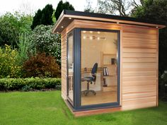 The Smallest Garden Room By ; Futurerooms Co Uk As