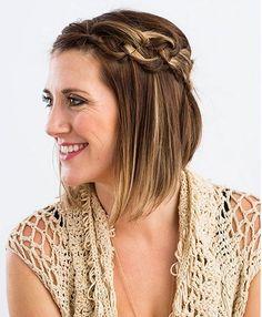 Einfache Anleitungen Für Zopf Frisuren Auch Für Kurze Haare