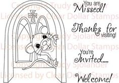 Church Sunday School Invitation Personalized by