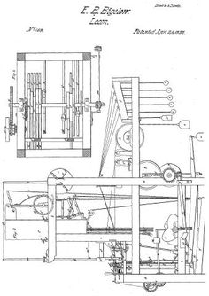 The Jacquard Loom, a programmable loom that inspired the