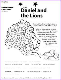 David Defeats Goliath (Crossword Puzzle)- Kids Korner