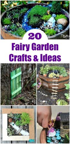Fairy garden ideas,