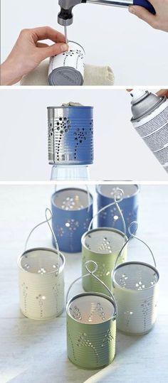 Tiin Can Lanterns -
