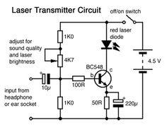 Mini FM transmitter circuit diagram schematic design using