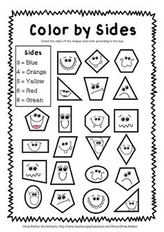 1000+ ideas about Kindergarten Shapes on Pinterest