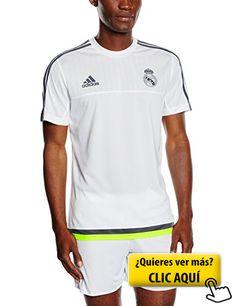 adidas real trg jsy camiseta para hombre color real