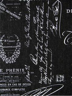 1000 images about Script Fabric on Pinterest  French