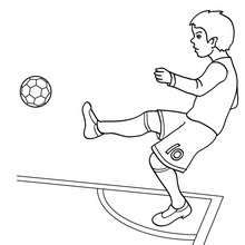 Soccer Player #Coloring_Page You Can Print Out This #