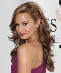 Loose Waves One Side Pinned Up Hairstyle Google Search Wedding