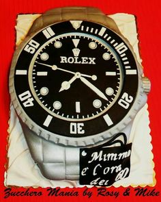 Rolex Watch Themed Cake I Likey Watches Picture Birthday