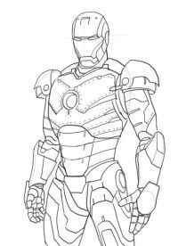 How to Draw Iron Man 3, Step by Step, Marvel Characters