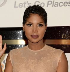 Toni Braxton Short Hair I Like Hair!!! Pinterest Dbs Ies