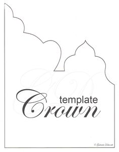 Printable templates for paper crowns and tiaras. Could