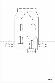 Castle Pop Up Card. Click on link for free video tutorial