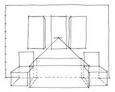 Two Point Perspective Drawing Room Google Search Perspective