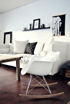 1000 ideas about Black Eames Chair on Pinterest  Eames