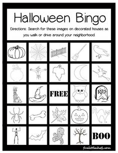 Scavenger Hunt for Kids: Print out and use in your