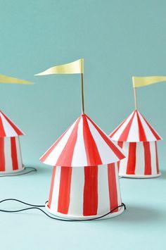 DIY: circus party ha
