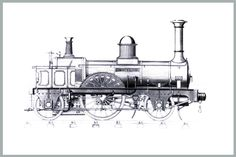 1000+ images about Old Steam train drawings on Pinterest
