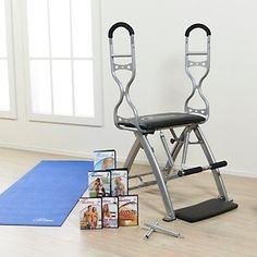 malibu pilates chair office 300 lb capacity pro deluxe with susan lucci's favorite moves at hsn.com. | home pinterest ...
