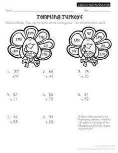 1000+ images about Multiplication activity sheets on