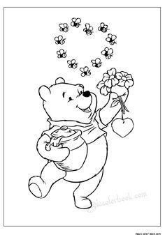Squirrel and Autumn coloring pages for kids, fall seasons