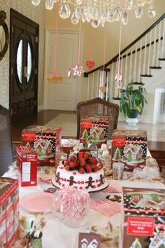 Gingerbread House Party Christmas Holiday Party Ideas Christmas
