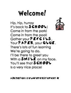 1000+ ideas about Welcome Back Teacher on Pinterest