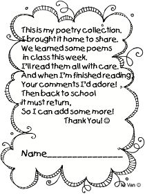 I like poem...Intro to poetry lesson...have kids write