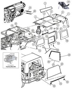 Suspension Parts for Jeep CJ5, CJ7 & CJ8 Scrambler at