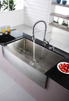 touch on kitchen faucet built in cabinets 1000+ images about daddy's house pinterest | stainless ...