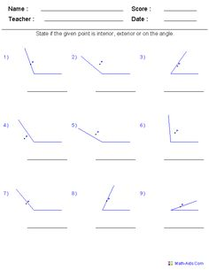 math worksheets for every grade FREE...i have it on angles