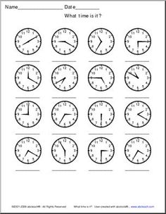 This is a simple worksheet I did for my grade 1's to
