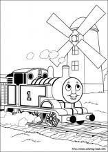 Thomas Coloring Page