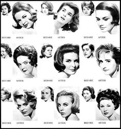 60's Hairstyles Have A Yearbook Picture With The Style On The Left